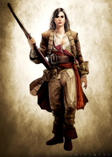 Mary Read in AC Initiates