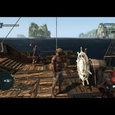 เสร็จแล้วก็ขึ้นมาขับเรือต่อด้วยชุดว่ายน้ำ (XD ล้อเล่นนะคะ)