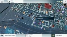 แผนที่เมื่อ Sync กับเกมใหญ่ค่ะ จะแสดงไอคอนทั้งหมดในเกมให้ดูเลย